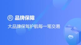 天猫网店交易:品牌保障